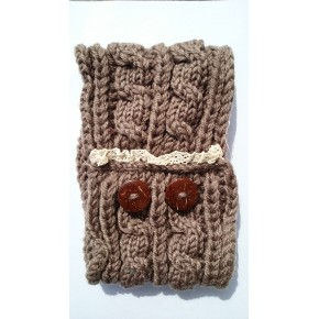 Bandeau tricot laine