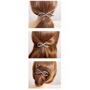 Clip cheveux type flexi 8