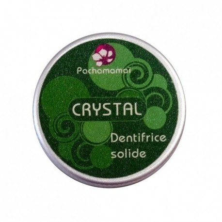 Dentifrice solide crystal PACHAMAMAI
