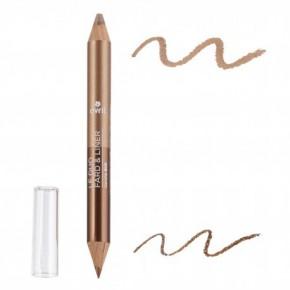 Duo fard & liner Bronze Cuivré/Beige Doré (AVRIL)