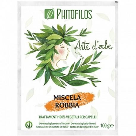 Coloration végétale cognac (miscela robbia) PHITOFILOS)