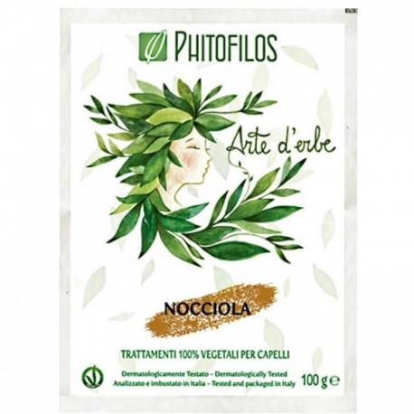 """Coloration végétale Noisette """"froid"""" (Nocciola) PHITOFILOS"""