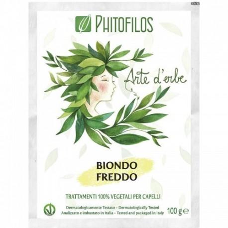 Coloration végétale Blond Froid (Biondo freddo) PHITOFILOS)