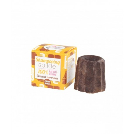 Shampooing solide au chocolat cheveux normaux (LAMAZUNA)