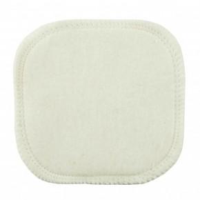 Carré démaquillant lavable en coton bio (AVRIL)