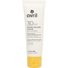 Crème Solaire Visage SPF 30 (AVRIL)