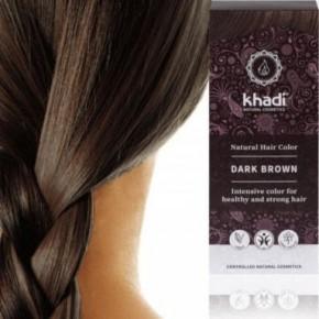 Khadi marron foncé brun