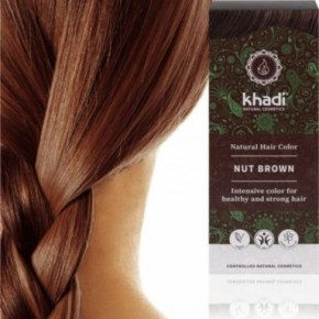 Khadi noisette naturel