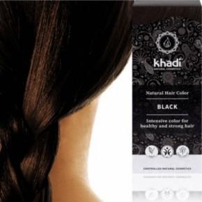 Khadi noir profond
