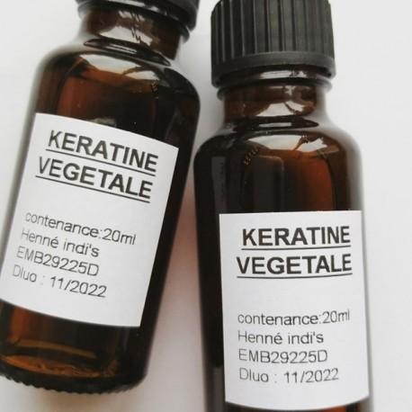 Kératine végétale (phytokératine liquide)