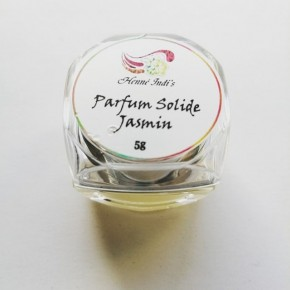 parfum solide au jasmin