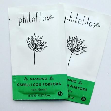"Shampooing anti-pelliculaires 8 ml ""shampoo capelli con forfora"" PHITOFILOS"