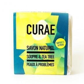 Savon soufre / tea tree - peaux à problèmes (CURAE)