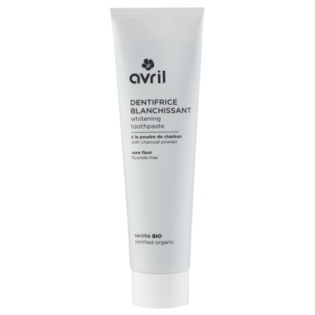 Dentifrice blanchissant bio 100ml (AVRIL)