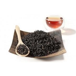 Feuille de thé noir