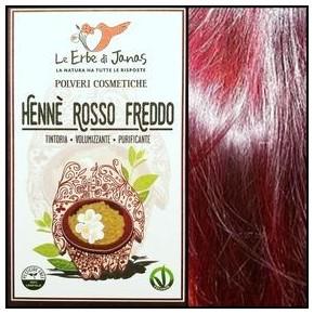 Henné rouge froid (rosso freddo) LE ERBE DI JANAS