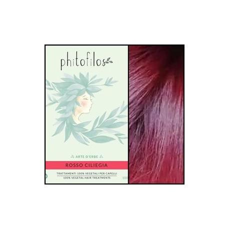 Coloration végétale rouge cerise (rosso ciliegia) PHITOFILOS