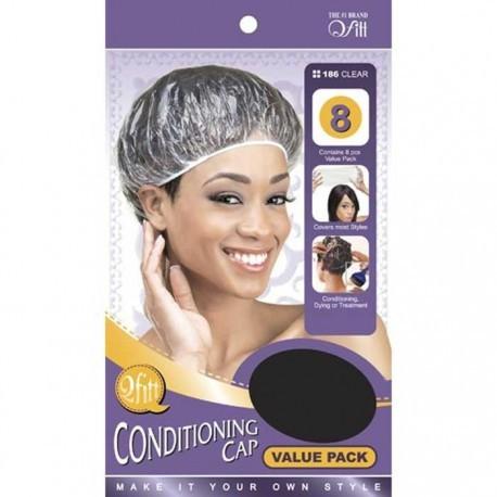 Bonnets pour soins des cheveux (lot de 8)