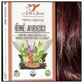 Henné rouge ayurvédique Bio (LE ERBE DI JANAS)