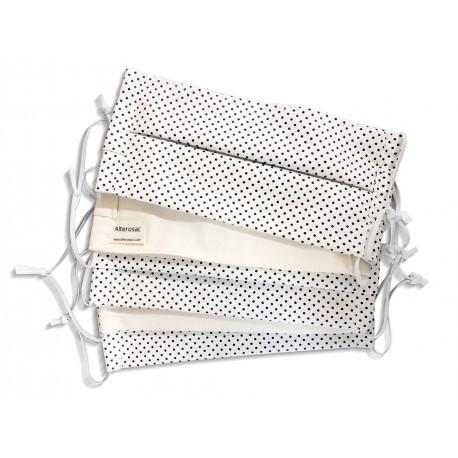 Masque lavable coton bio - Pachamamaï