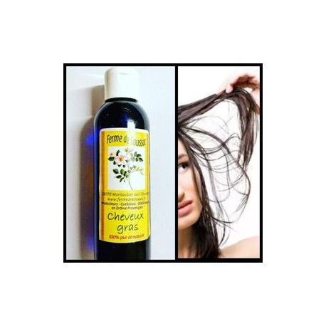 Cheveux gras (synergie d'hydrolats)