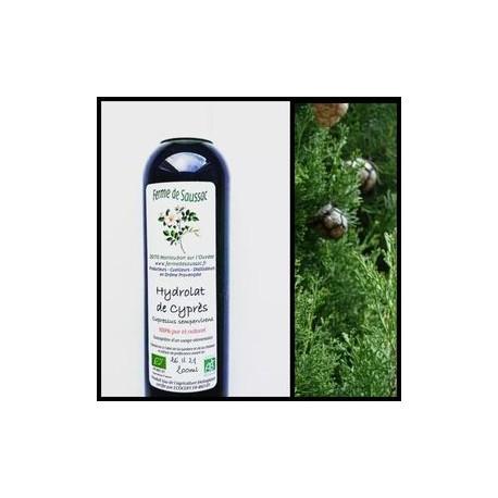 Hydrolat cyprès bio