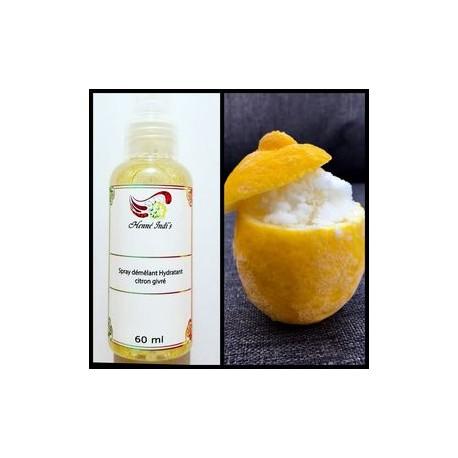Spray hydratant et démêlant citron givré