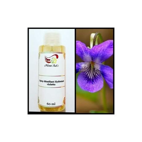 Violette (spray hydratant démêlant)