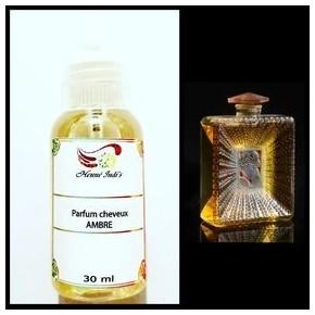 Parfum cheveux à l'ambre