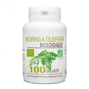 Moringa Oleifera Bio - 400 mg - 100 gélules végétales