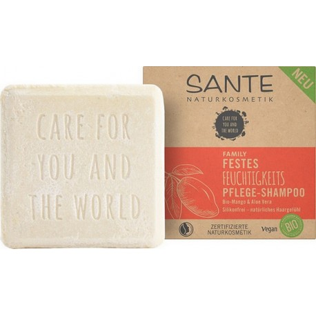 Shampooing solide hydratation mangue et aloé Bio - SANTE -