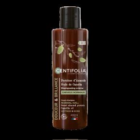 Shampoing cheveux normaux Protéines d'Amande douce et huile de Camélia (CENTIFOLIA)