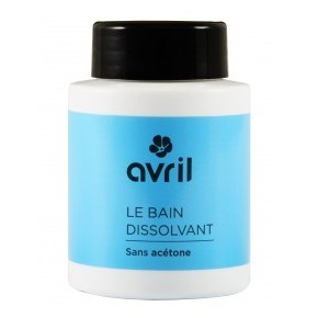Bain dissolvant sans acétone Avril