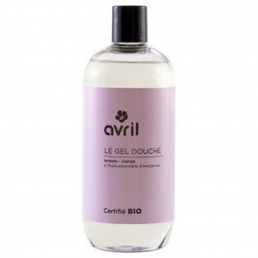 Gel douche Infusion de lavande fruitée 500 ml - Certifié bio (AVRIL)